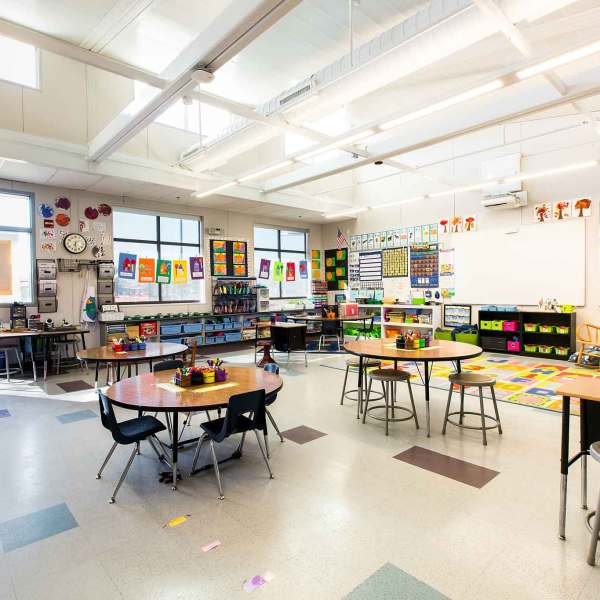 classroom at El Centro Elementary