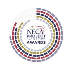 NECA Project Excellence Award logo