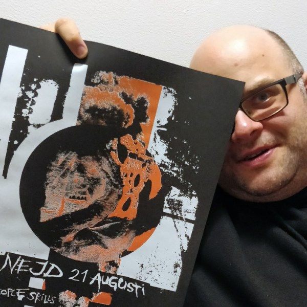 Nejd edition #1 - screen printed poster by Markus Samnell. Posterboy.