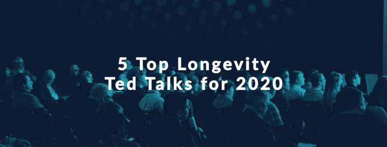 The top five longevity Ted talks for 2020 with attentive audience