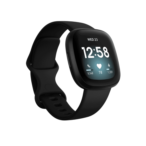The Fitbit Versa 3 is an excellent top health and sleep tracker in 2021 for wellness and longevity