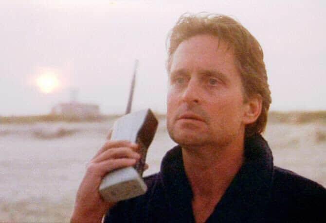 gordon gekko old phone