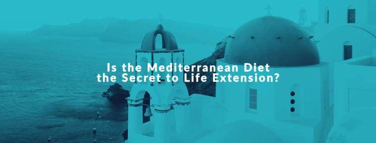mediterranean diet for longevity