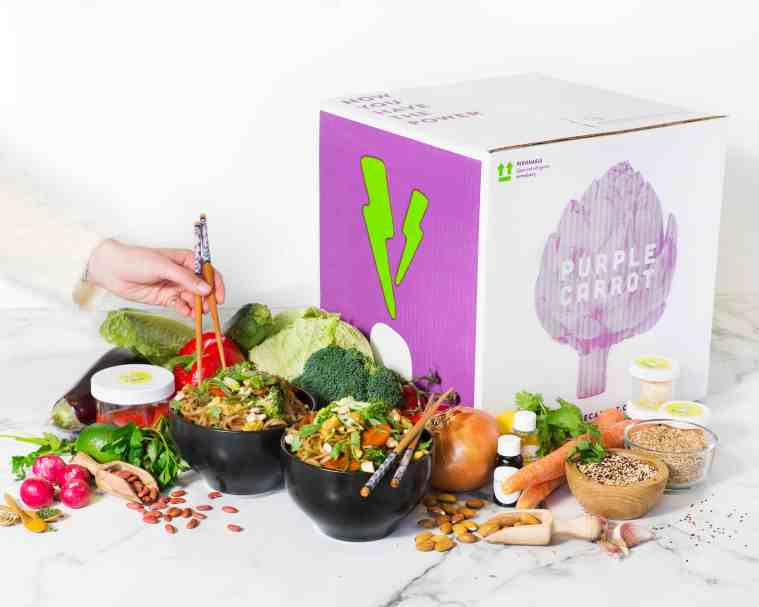 Purple Carrot subscription box