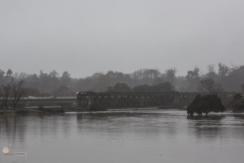 South Esk in flood