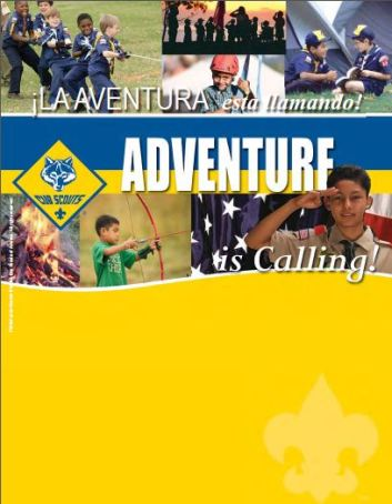Adventure is Calling Flyer