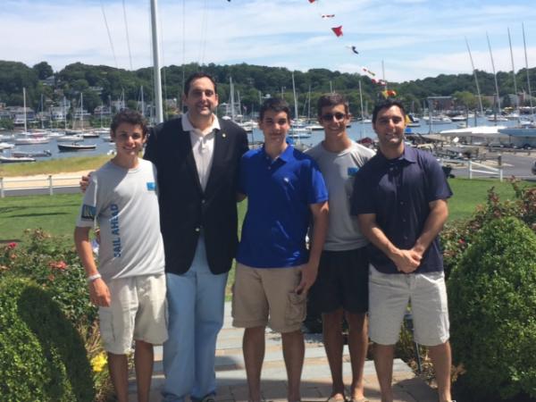 Assemblyman Lupinacci Honors Veterans At Sail Ahead