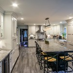 An Alure Ing Modern Farmhouse Kitchen Renovation