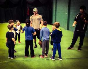 Youth baseball class