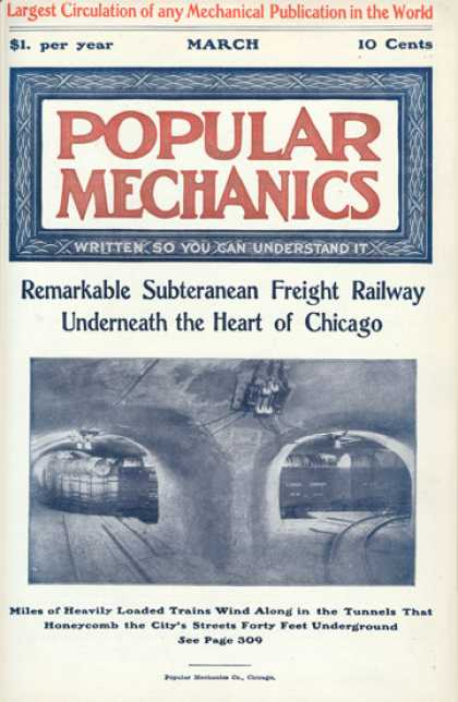 Popular Mechanics cover