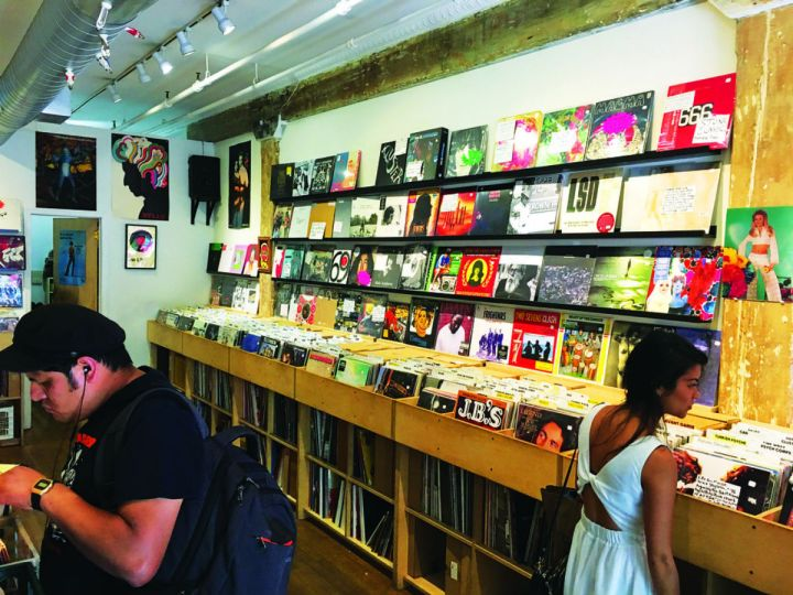Earwax New York record shop