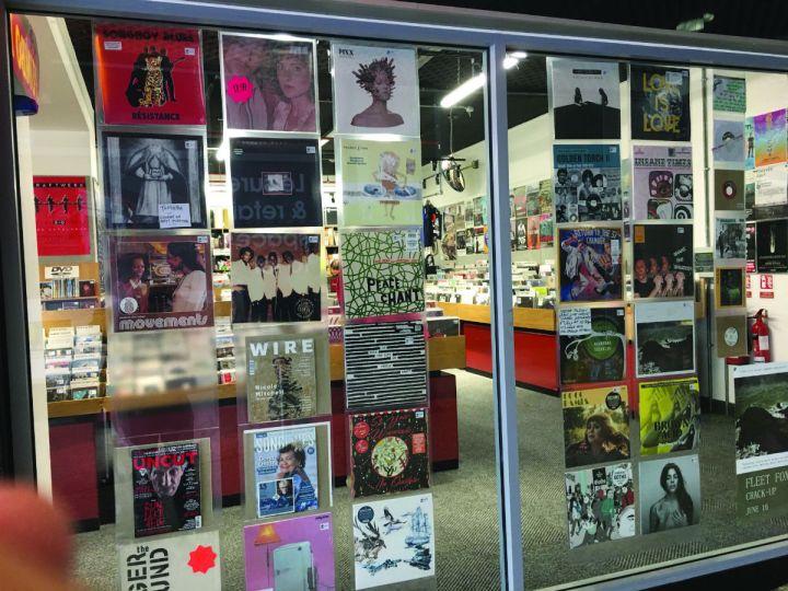 Jumbo record shop Leeds