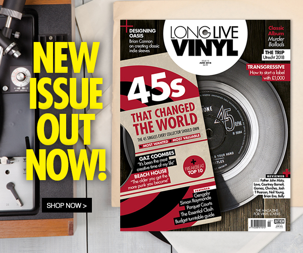 Long Live Vinyl issue 15 now on sale