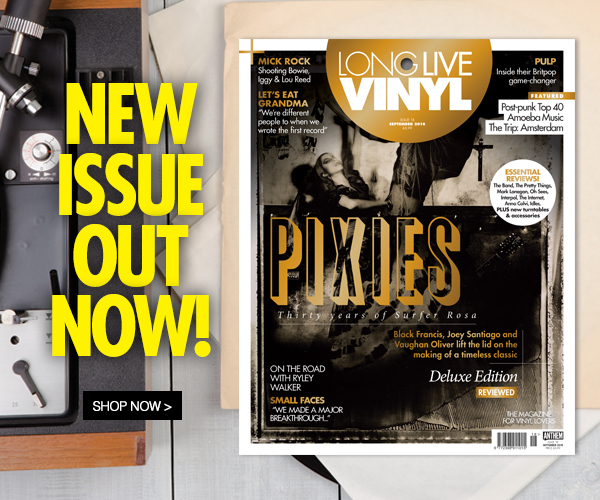 Issue 18 of Long Live Vinyl is now on sale - Pixies
