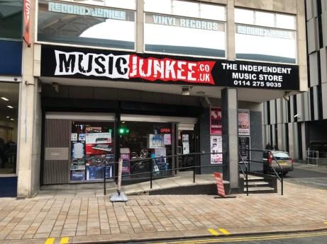 Record Junkee Sheffield