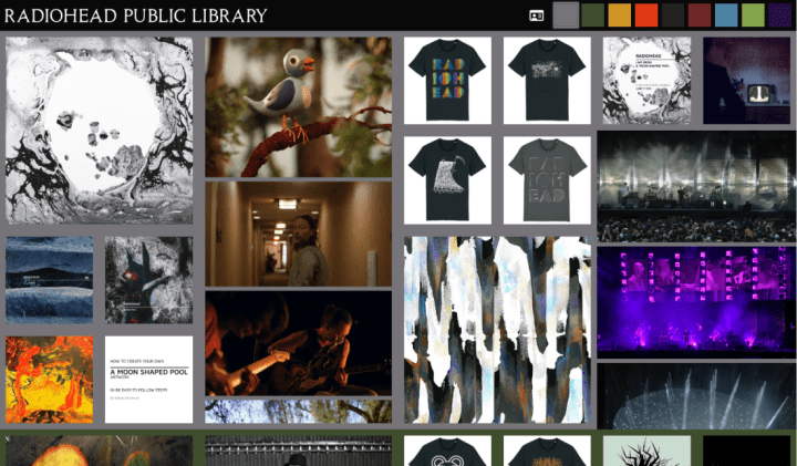 Radiohead Public Library Homepage
