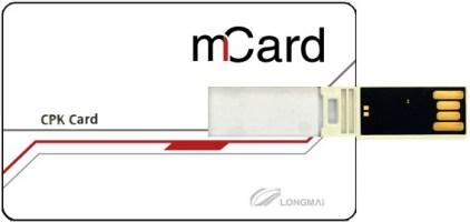 mToken_CPK Card