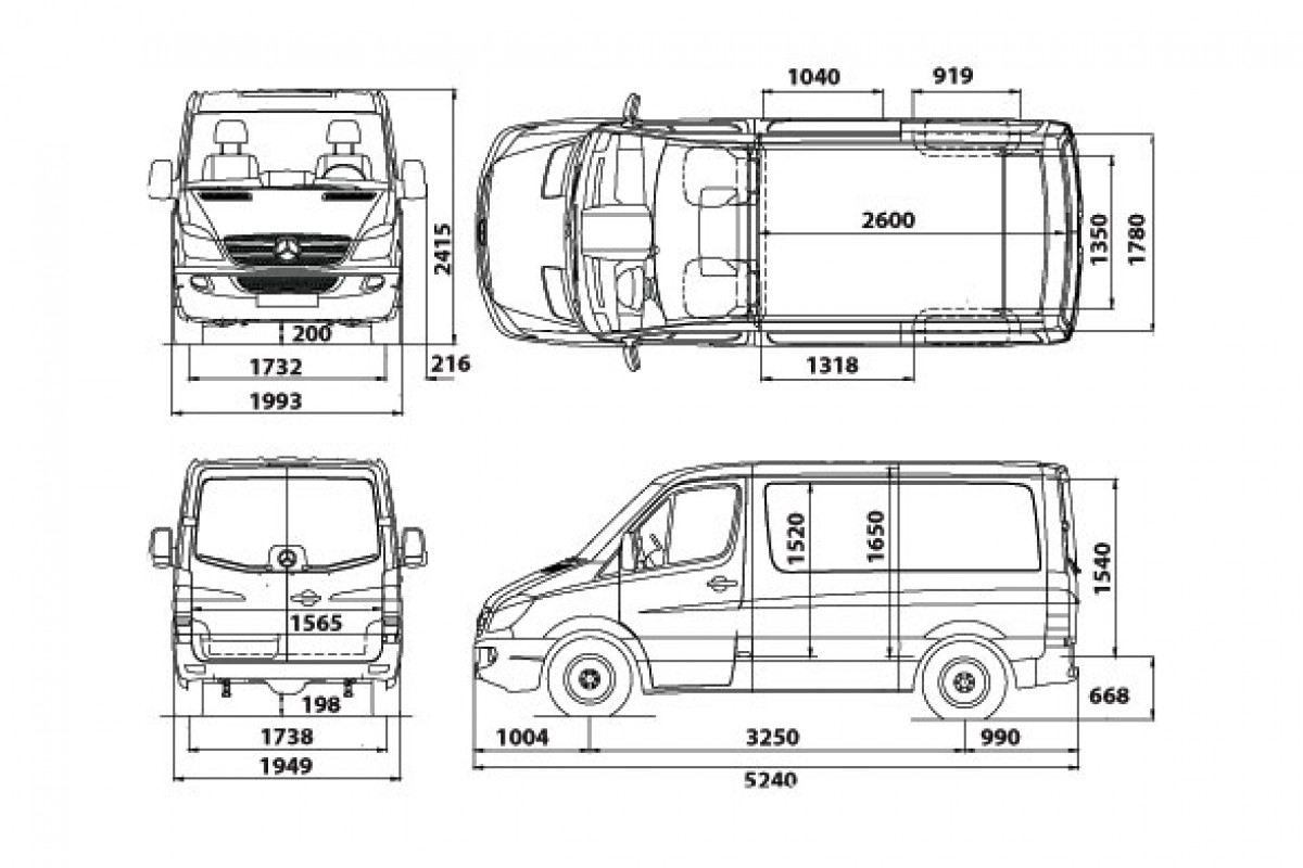 Van And Truck Dimensions Amp Carrying Capacity