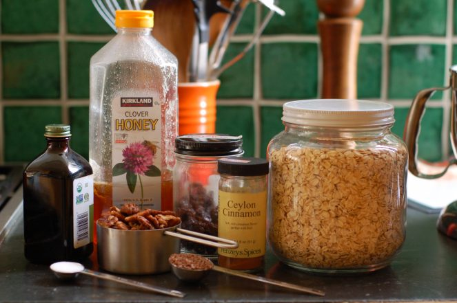 Granola ingredients