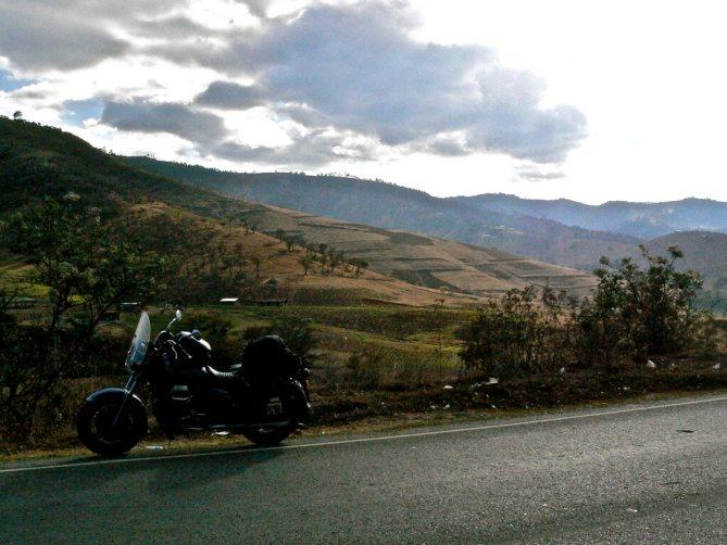 Primi chilometri in Guatemala