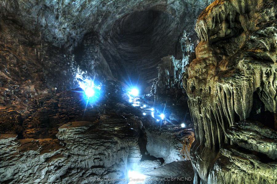 scatto in Hdr delle grotte di Cacahuamilpa