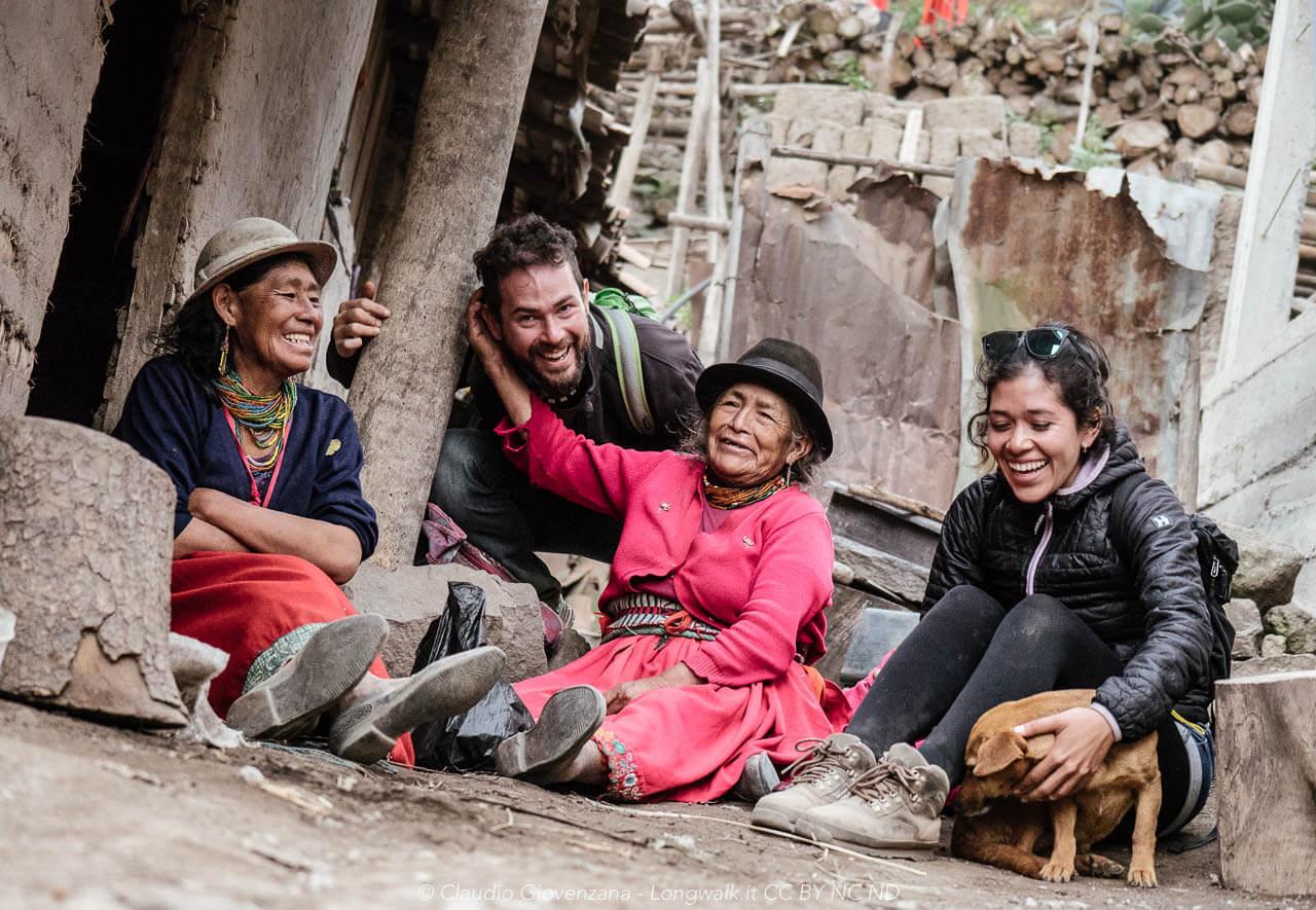 Incontro con il popolo Quechua di Niza nella valle della Nari del Diablo, Ecuador