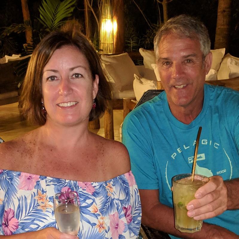 Terry and Christina