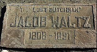 Burial Site of Jacob Waltz - The Lost Dutchman