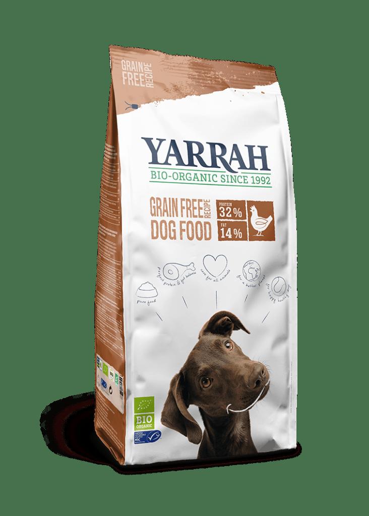 Orgaaniline TERAVILJAVABA koeratoit YARRAH 2kg