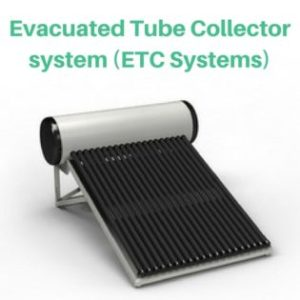 Evacuated Tube Collector system (ETC Systems) LOOFAL