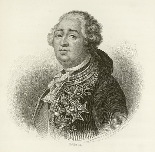 king louis xvi of france stock image look and learn