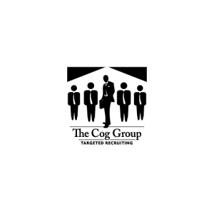 Recruiting company, The Cog Group - Logo Design by Steve Miller of Royal Oak, MI.