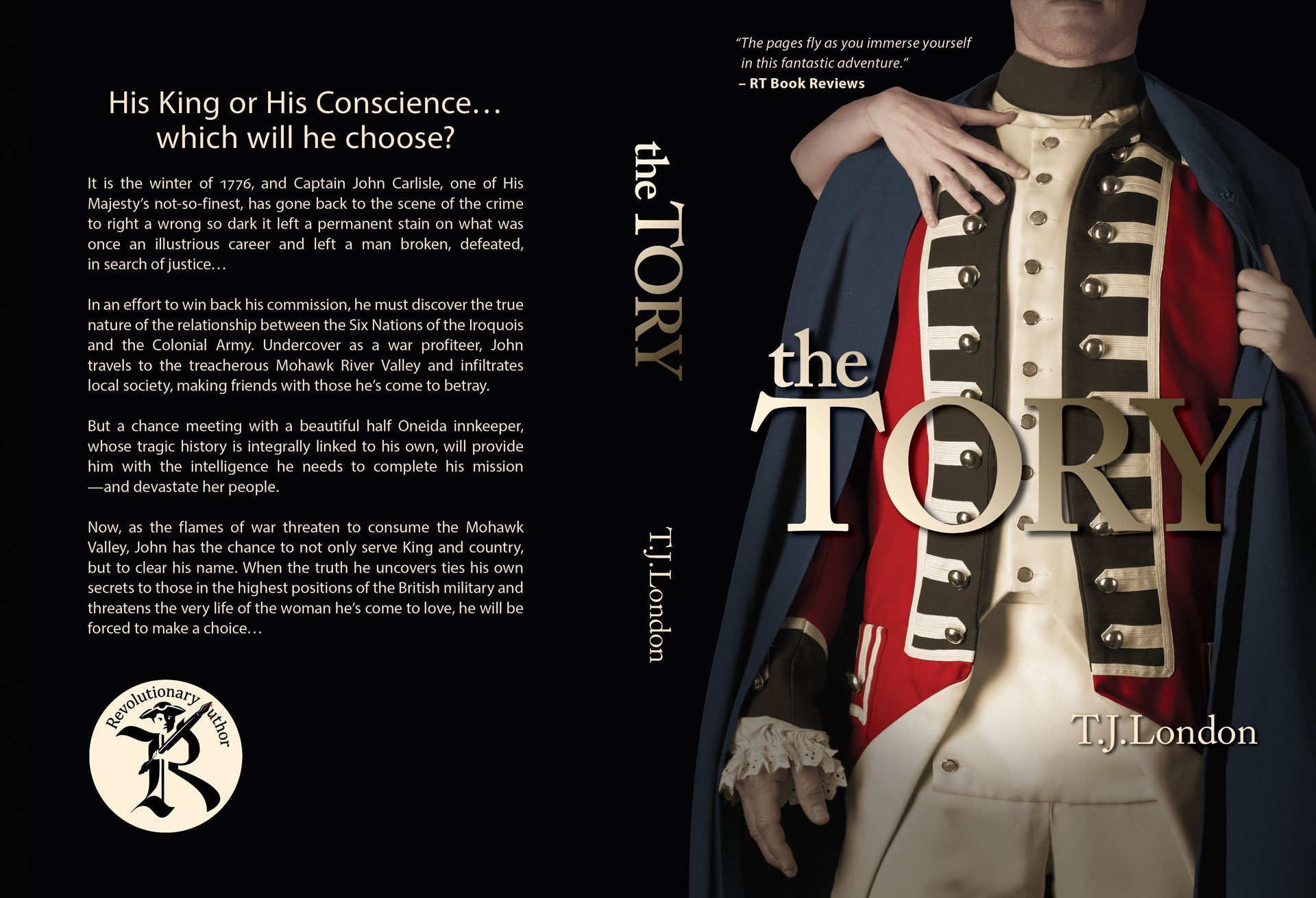 The Tory - Book Jacket Design