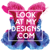 LookAtMyDesigns.com Logo designed by Steve Miller