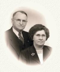 Alvion P. Mosier and Anna Williams, c. 1955