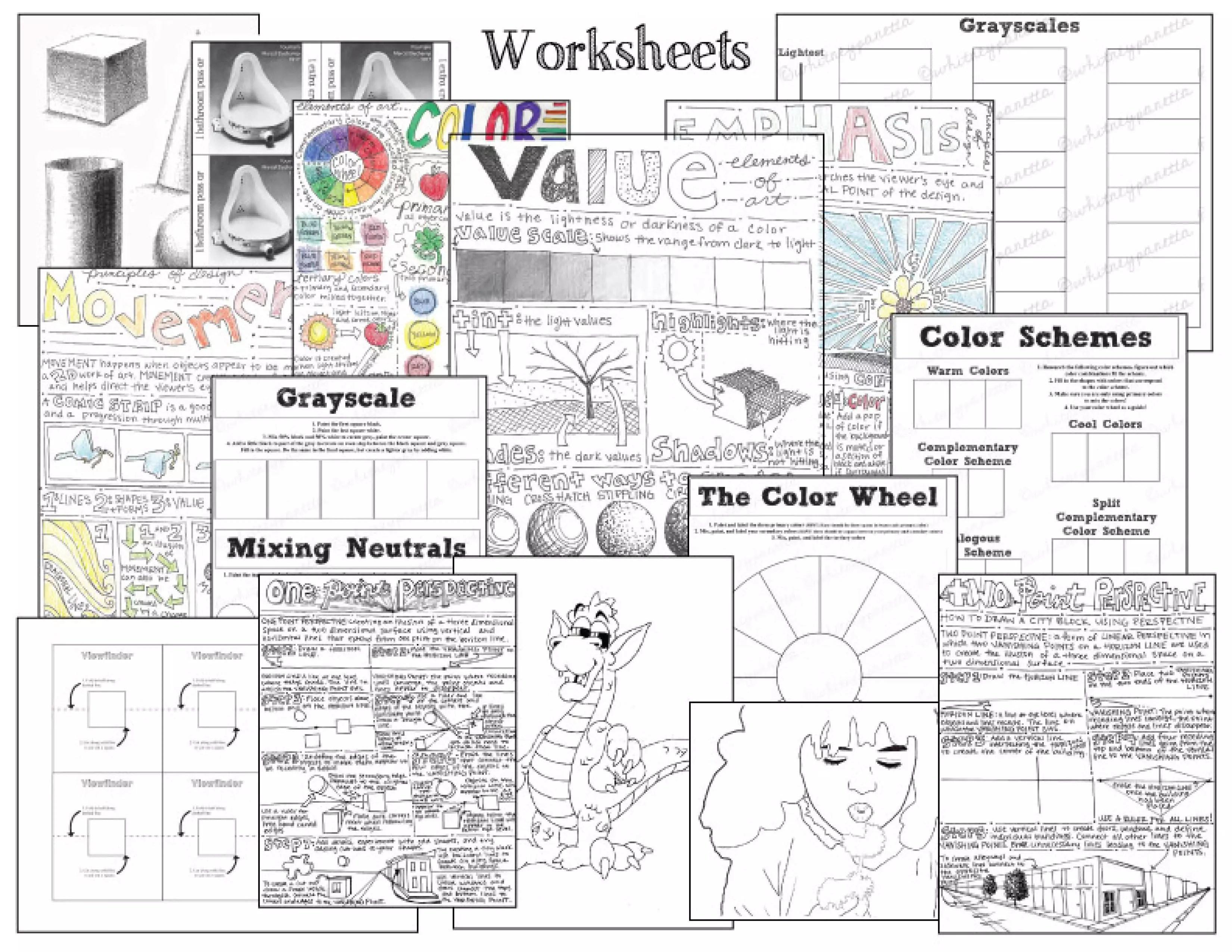 Teachers Pay Teachers Yearlong Art Class Curriculum Plus Giveaway