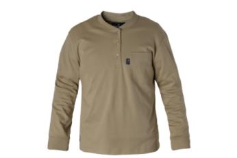Fire Resistant Henley Shirt