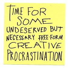 Progressive Procrastination