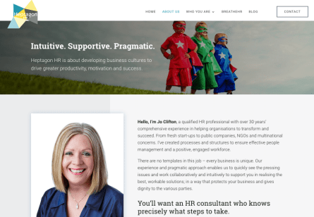 HR consultancy website