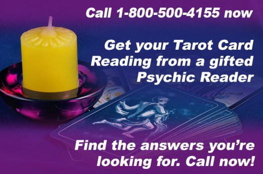 Call 1-800-500-4155 now and get your Tarot Card Reading from a gifted Psychic Reader. Find the answers you're looking for. Call now!