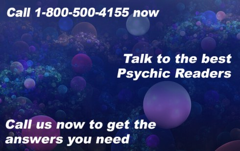 Call 1-800-500-4155 now to talk to the best Psychic Readers. Call us now to get the answers you need.