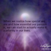 When We Realize - Call Looking Beyond Master Psychic Readers 1-800-500-4155 now!
