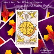 Tarot Card The Wheel of Fortune - Looking Beyond Master Psychics