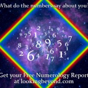 Get a Free Numerology Report from Looking Beyond Psychic Readers