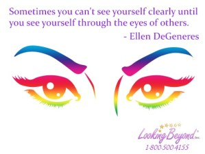 Sometimes you can't see yourself clearly - Looking Beyond Master Psychics