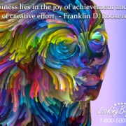 Happiness Lies In The Joy Of Achievement - Looking Beyond Master Psychics