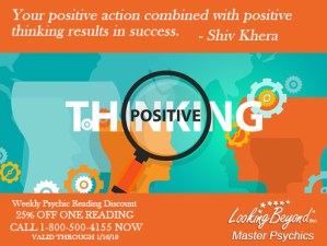 Positive Action - Looking Beyond Master Psychics