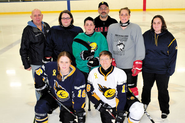 Determined Lady Tritons face steep odds at hockey ...