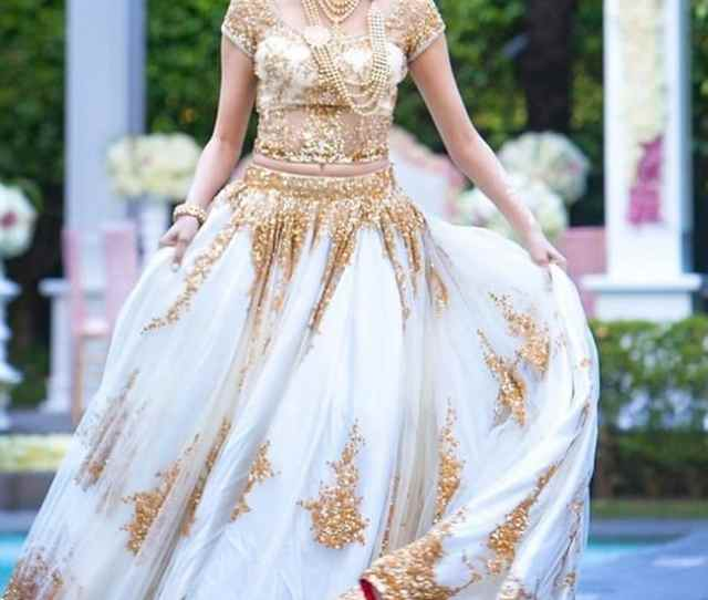 White Net Lace Heavy Works Bridal Lehengas Are Favorite Of The Indian Bridal
