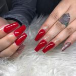 Updated 30 Bold Red Acrylic Nails For 2020 August 2020
